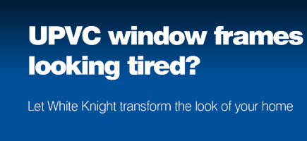 UPVC window frames looking tired?